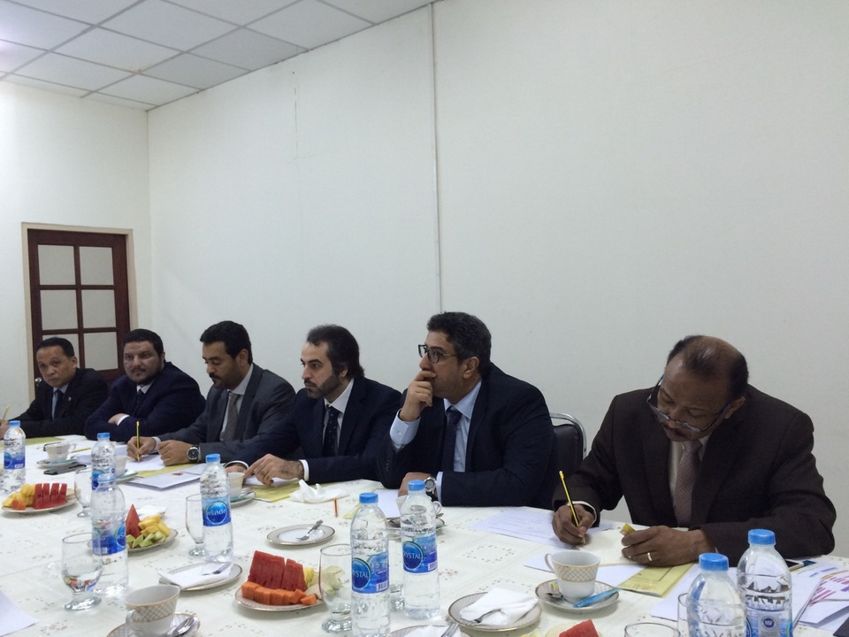 Delegation from Qatari Ministry of Labor and Social Affairs